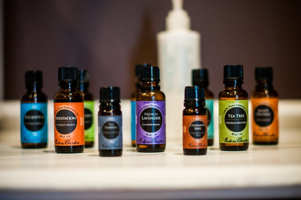 essential oils for professional massage therapy