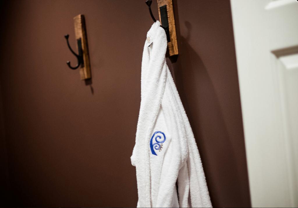 Robe handing on wall
